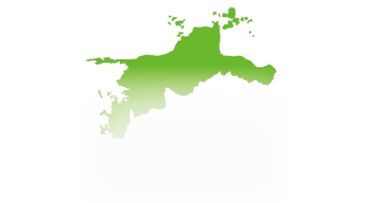 愛媛県出張対応エリアマップ